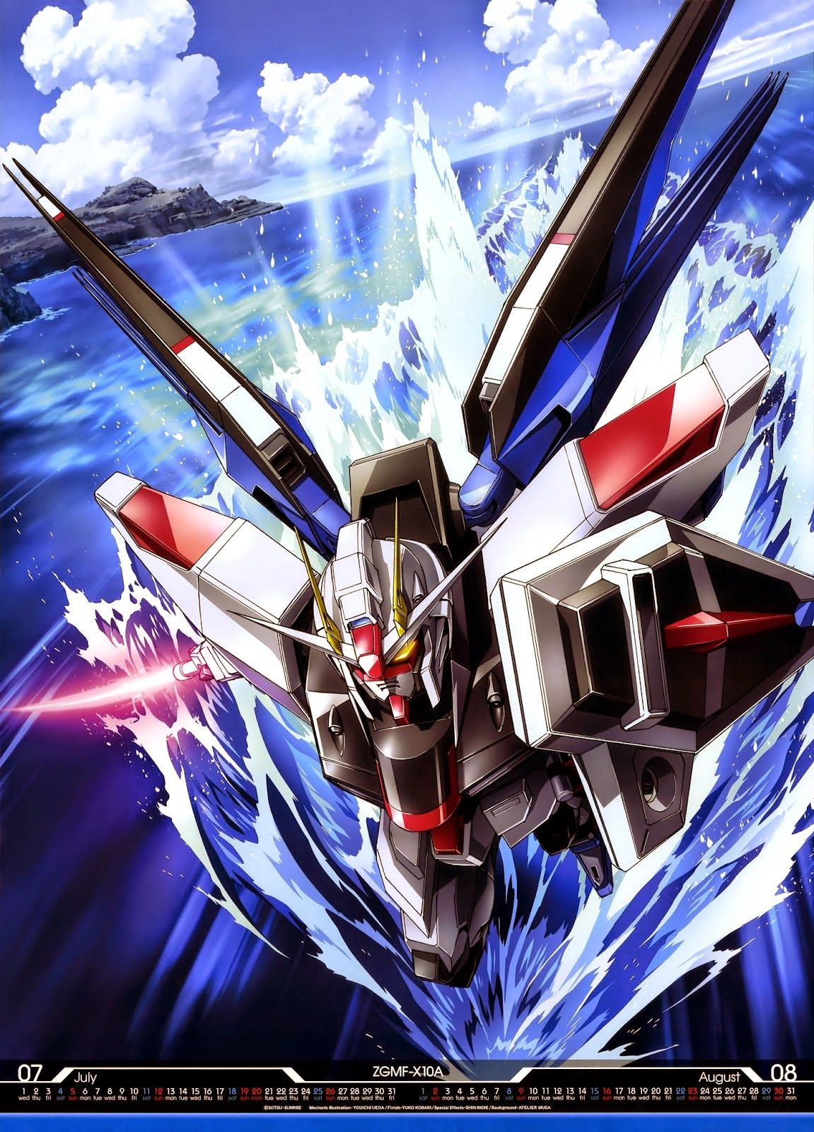 GUNDAM GUY: Mobile Suit Gundam 2015 Calender - Image Gallery