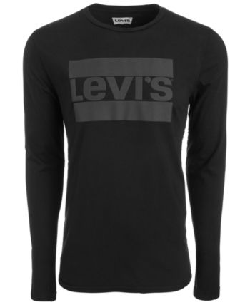 e5a9a47b9d45 Levi's Men Graphic-Print Long Sleeved T-Shirt in 2019 | Products ...