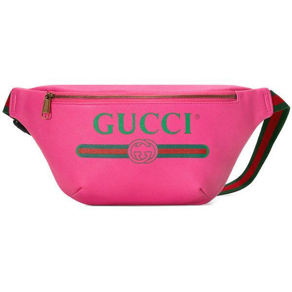 4b31af88893 Gucci Gucci Print leather belt bag ( 1