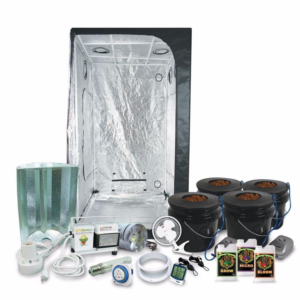 Complete 3 X 3 39 X39 X79 Grow Tent Package With 400 400 x 300