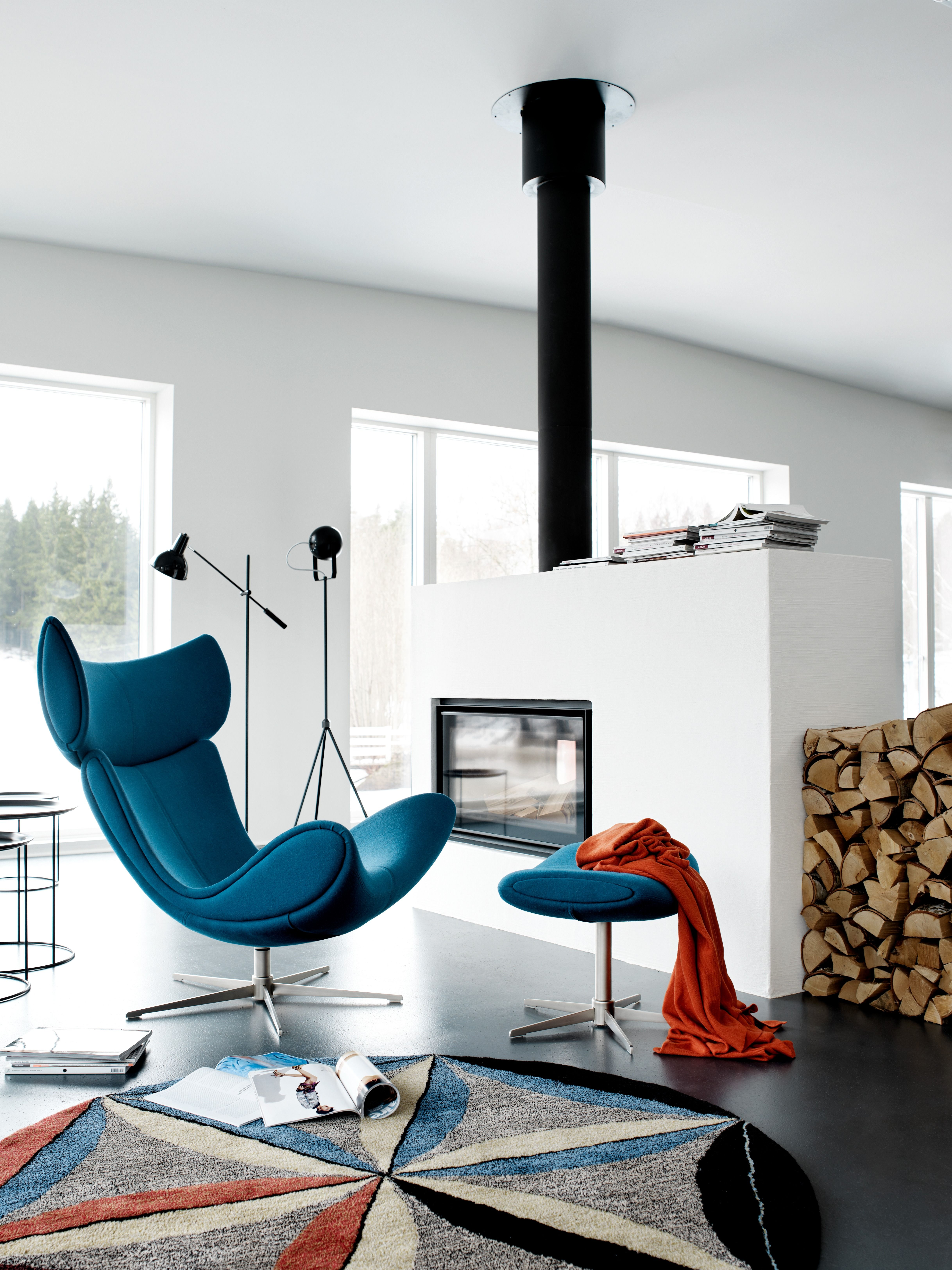 Imola Sessel Mit Drehfunktion Boconcept Scandinaviandesign