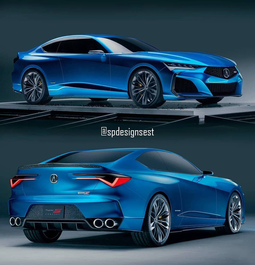 This Is My Custom Acura Type S Coupe Style Concept IDEA,in