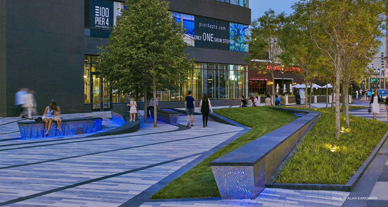 Mikyoung Kim Design Pier 4 PlazaMikyoung Kim Design Landscape