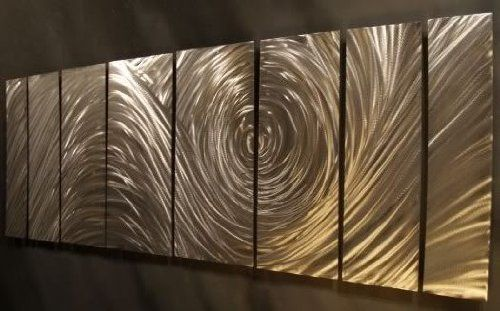 Abstract Metal Decor Unique Wall Art By Artist Ash Carl By Ash Carl 280 00 Signed And Dated By Am Metal Wall