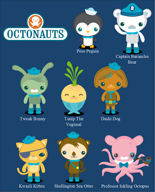 picture relating to Octonauts Printable referred to as Octonauts Printables octonaut bash Octonauts bash
