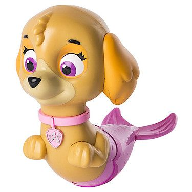 Paw Patrol Paddlin' Pups Bath Toy  Skye Merpup - Paw patrol toys, Paw patrol bedroom, Skye paw patrol, Paw patrol, Bath toys, Paw - Rescue bath time from boredom with Paw Patrol Paddlin' Pups! Just wind up Skye the Merpup and watch her paddle in the water  No bath is too big, no pup is too small  Collect all six pups for fab times in the tub! This bath toy's ideal for ages three and up
