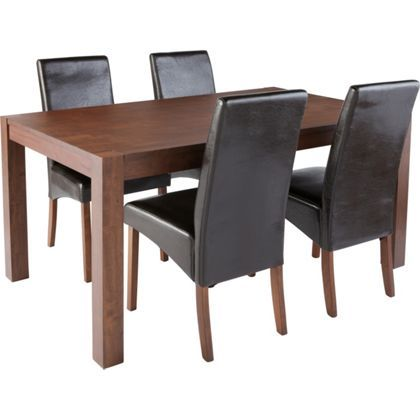 Michigan Dining Table And 4 Chairs By Homebase For 299