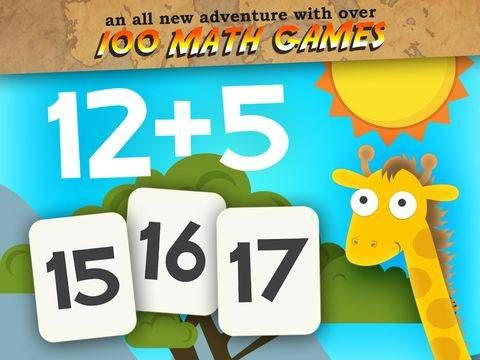 New app for kids Animal First Grade Math Games for Kids