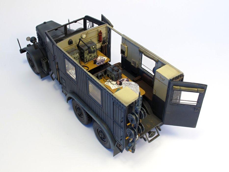 Einheitsdiesel Kfz.61 Radio