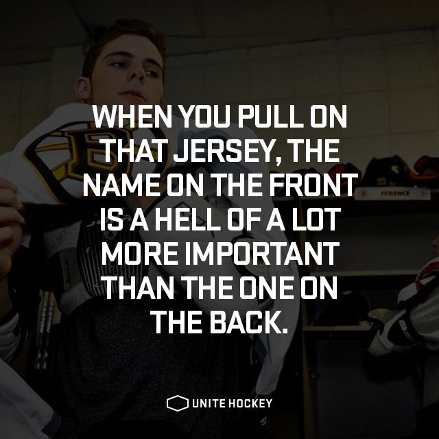 hockey quote inspirational Sports quotes, Hockey