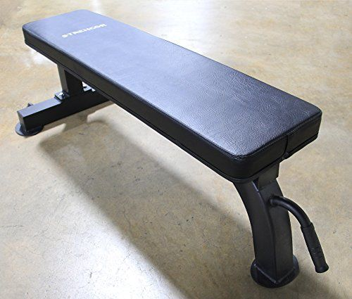 Atlas Heavy Duty Flat Bench 1000 Lb Capacity With Handle And Wheels You Can Find Out More Details At The Weight Benches Adjustable Weight Bench Gym Workouts