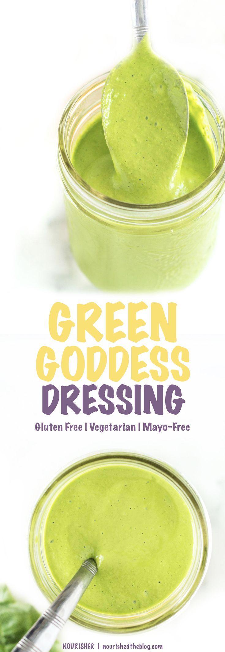 Vinaigrette verte saine de déesse | Cette recette de vinaigrette santé est une mayo-fr ... Vinaigrette verte saine de déesse | Cette recette de vinaigrette santé est une mayo-fr ...,