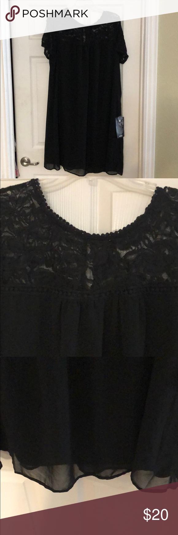 New Black Sheer Lace Dress 18 20 Sheer Lace Dress Lace Dress Sheer Lace [ 1740 x 580 Pixel ]
