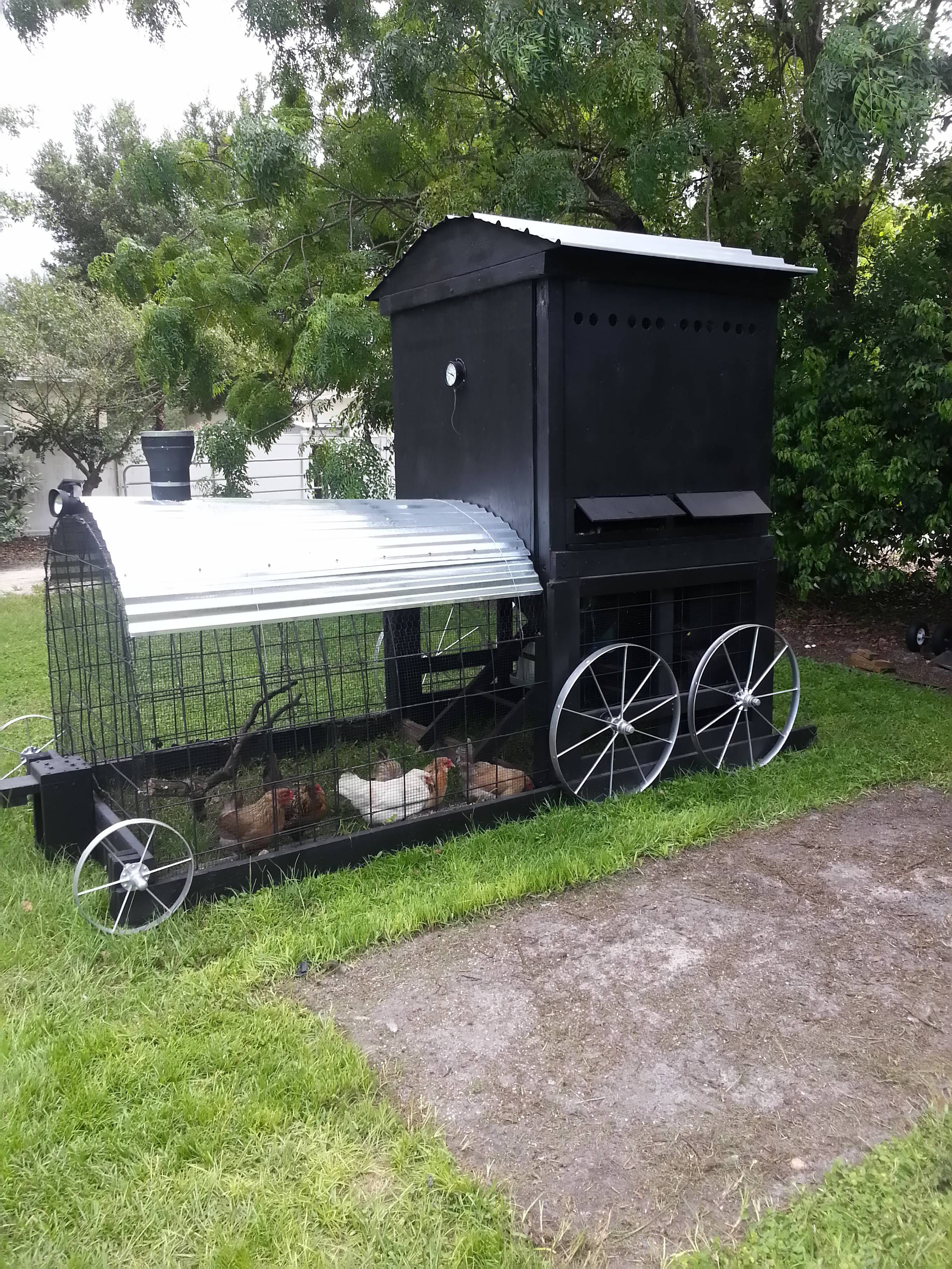 10 free mobile chicken coop plans in pdf with drawing blueprints
