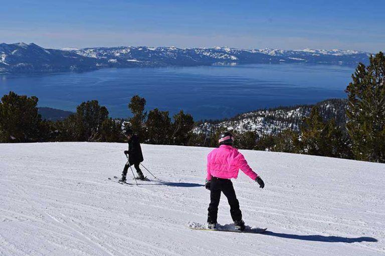 Frog family insiders guide to heavenly ski resort lake