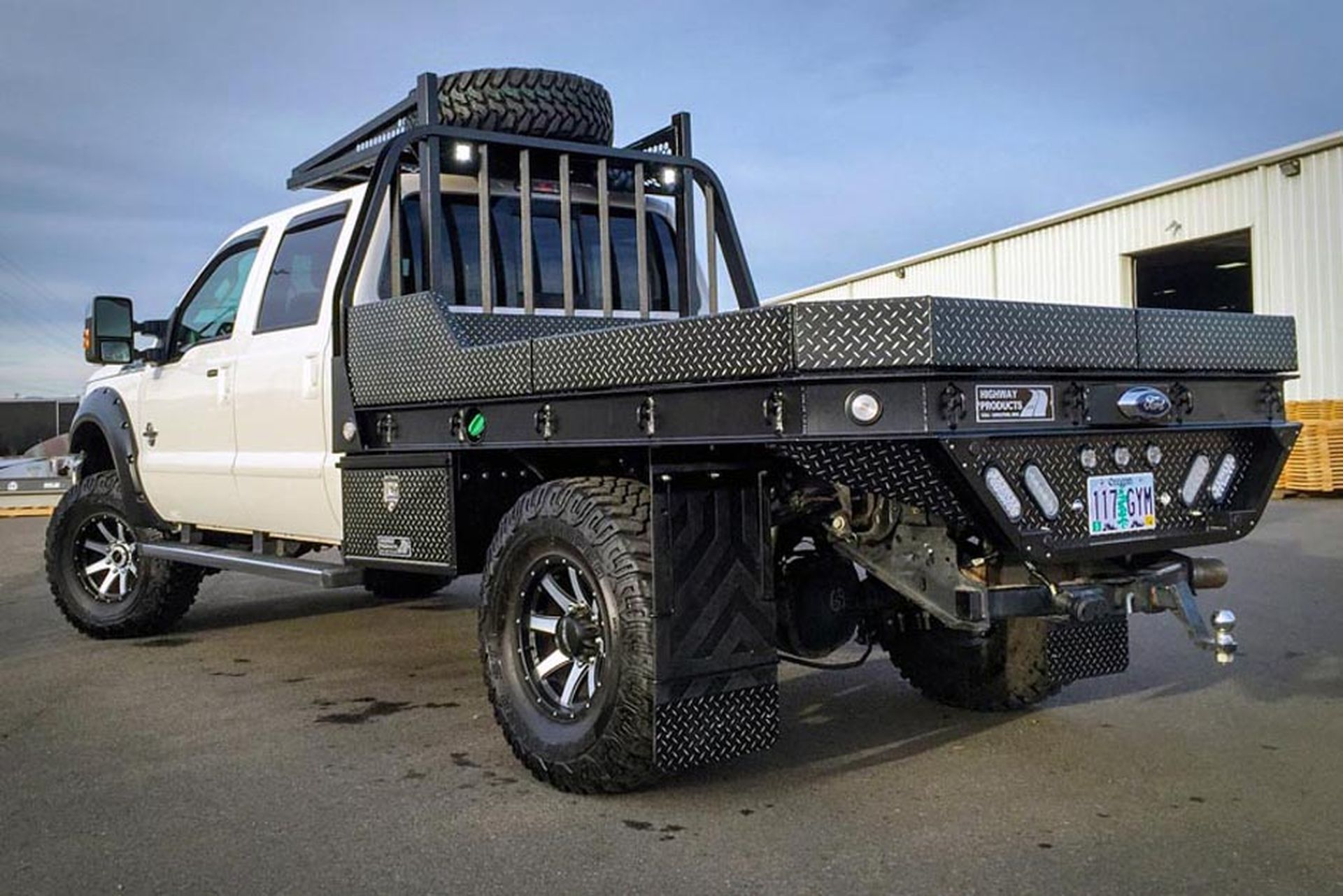 Custom Flatbeds Pickup Truck Flatbeds Highway Products Truck