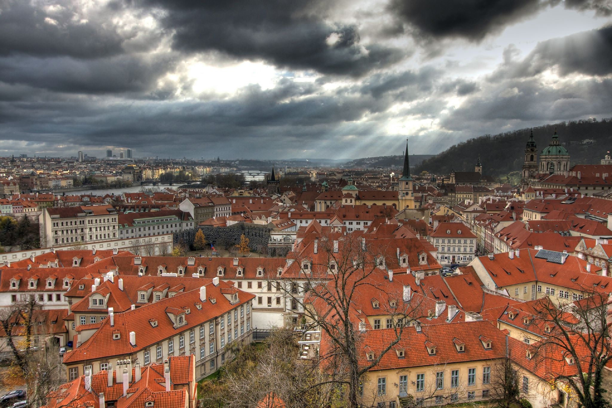 https://flic.kr/p/jhLFk9 | Prague Skyline