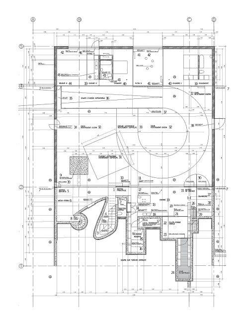 Rem Koolhaas Maison A Bordeaux (Casa En Burdeos) 1994 1998
