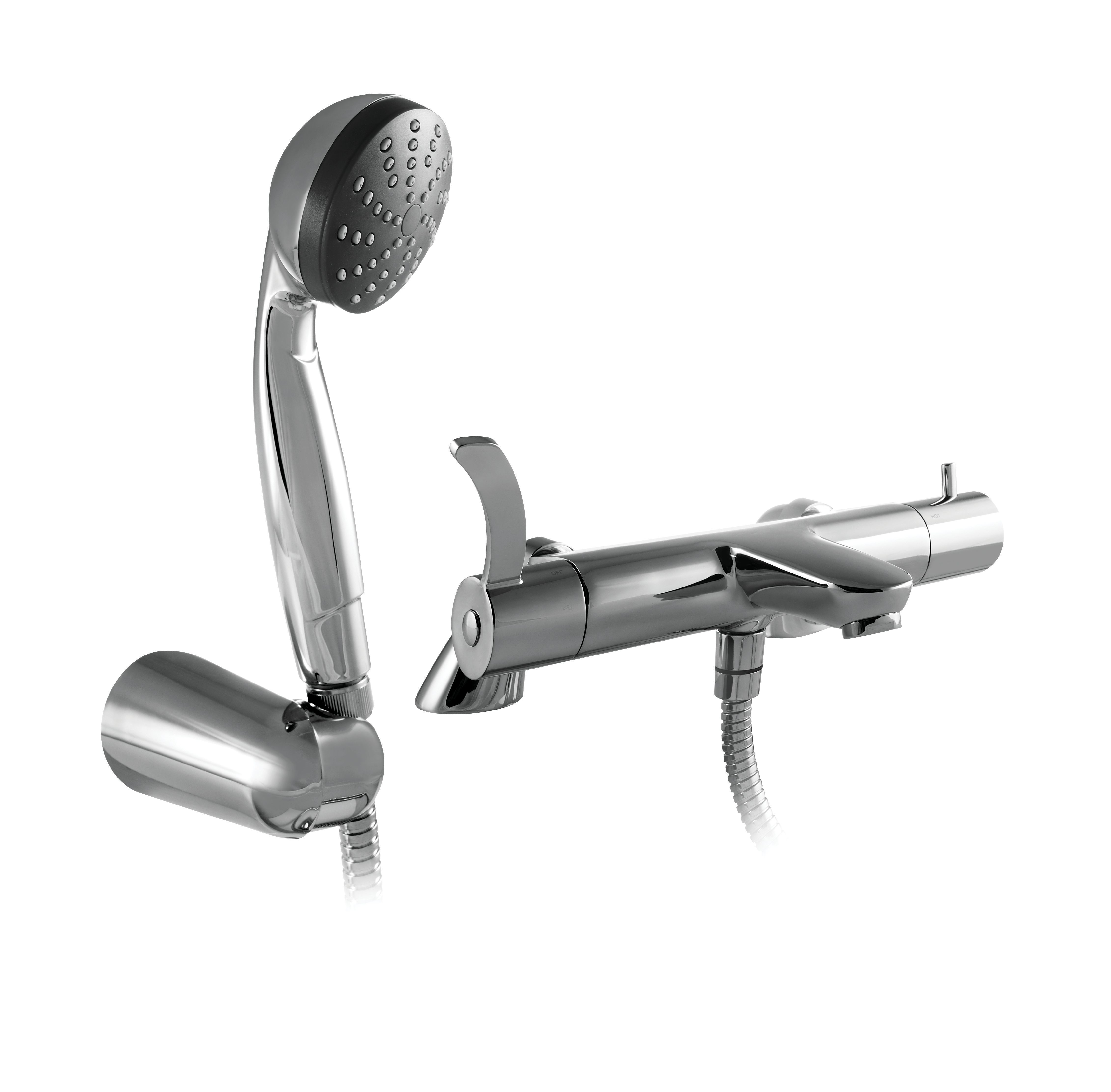 Wickes Aprillo Thermostatic Bath Shower Mixer Tap | Wickes.co.uk ...