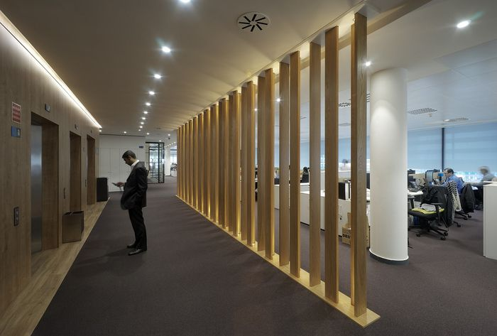 Office Tour Banco Sabadell Headquarters Madrid Interior