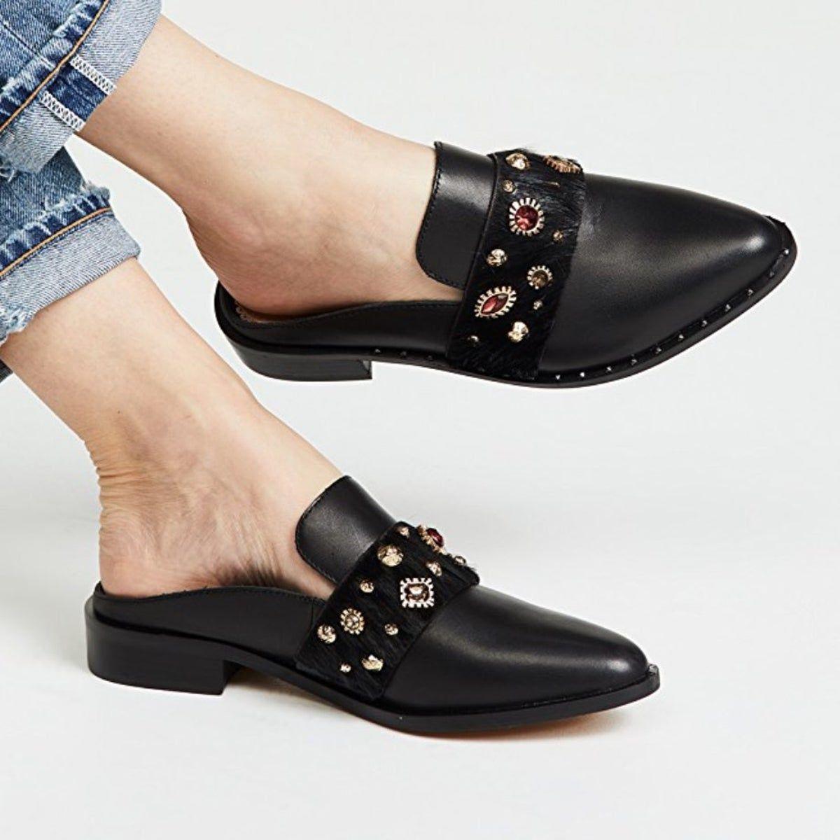 Leather mules, Sam edelman shoes