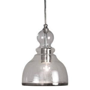 Home Depot Pendant Lights For Kitchen Home Decorators Collection 1Light Ceiling Polished Nickel Bell