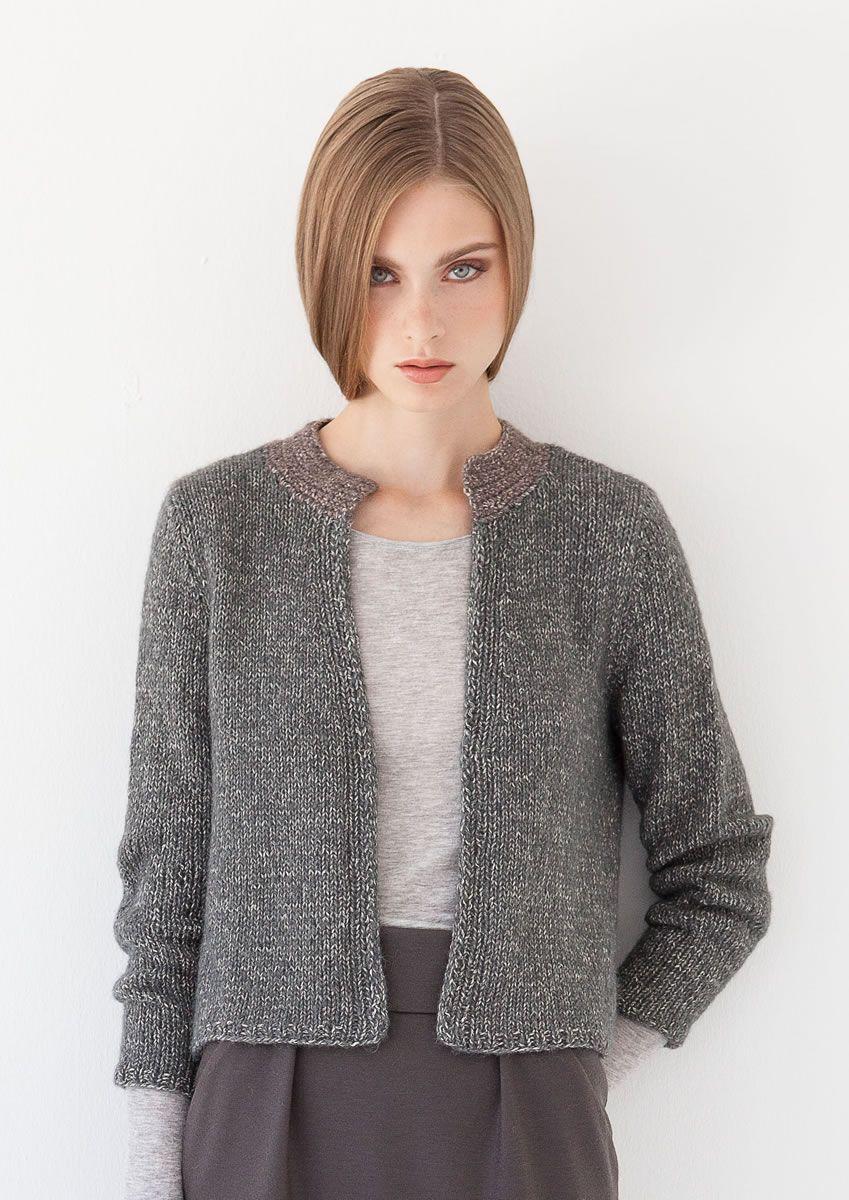 Photo of Lana Grossa KURZJACKE 365 Garzato – ALL SEASONS 365 No. 2 – Modell 8 | FILATI.cc Onlineshop