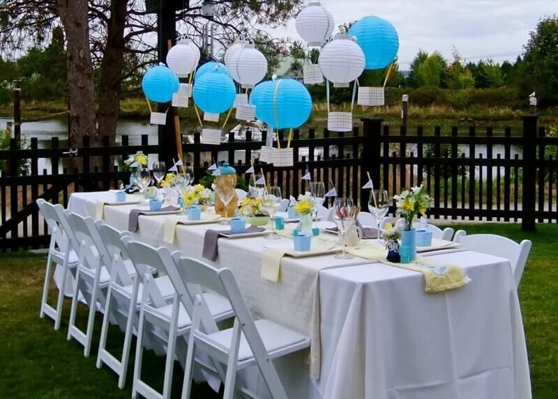 Backyard Baby Shower Decoration Ideas Backyard Baby Shower