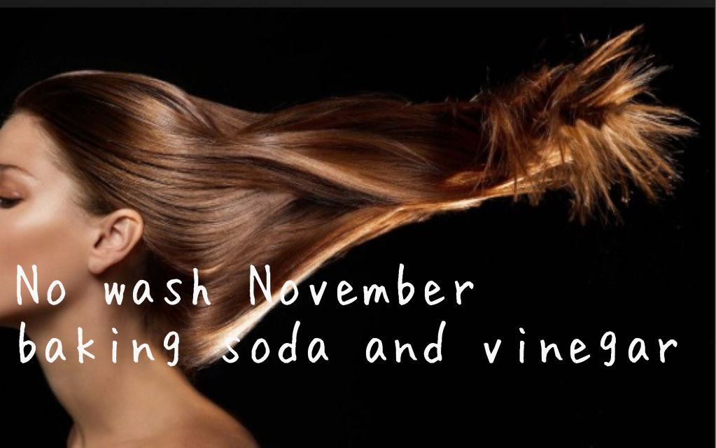 Instead of no shave November, don't wash your hair November. Sounds cool! @Avery A.