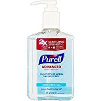 Purell Advanced Hand Sanitizer Refreshing Gel 8 Oz Find Out