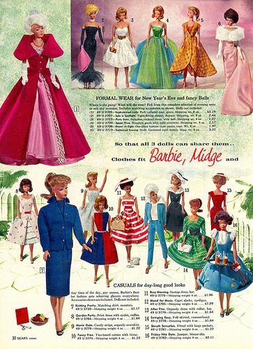 barbie costumes Vintage