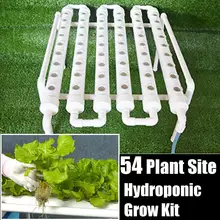 Hydroponic System Pots To Grow Kit Equipment Garden Vegetables Planting Box 36 Sites Hydroponic Rack Holder So Hydroponic Grow Kits Hydroponic Growing Grow Kit
