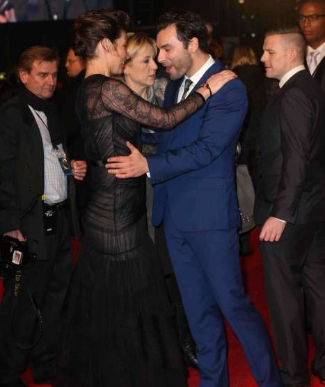 Evangeline Lilly & Aidan Turner. I love these two ...