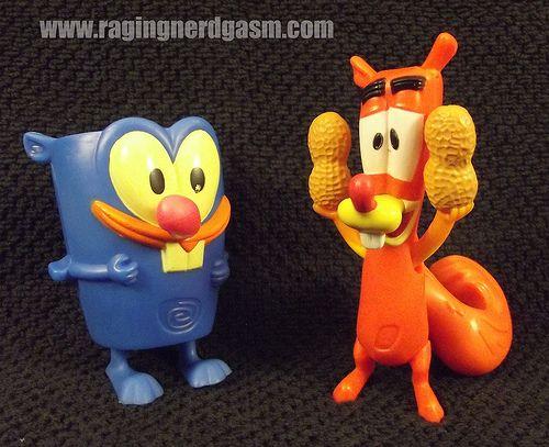 Cartoon Network Squirrel Boy Kids Meal Toys 0001 Pinterest