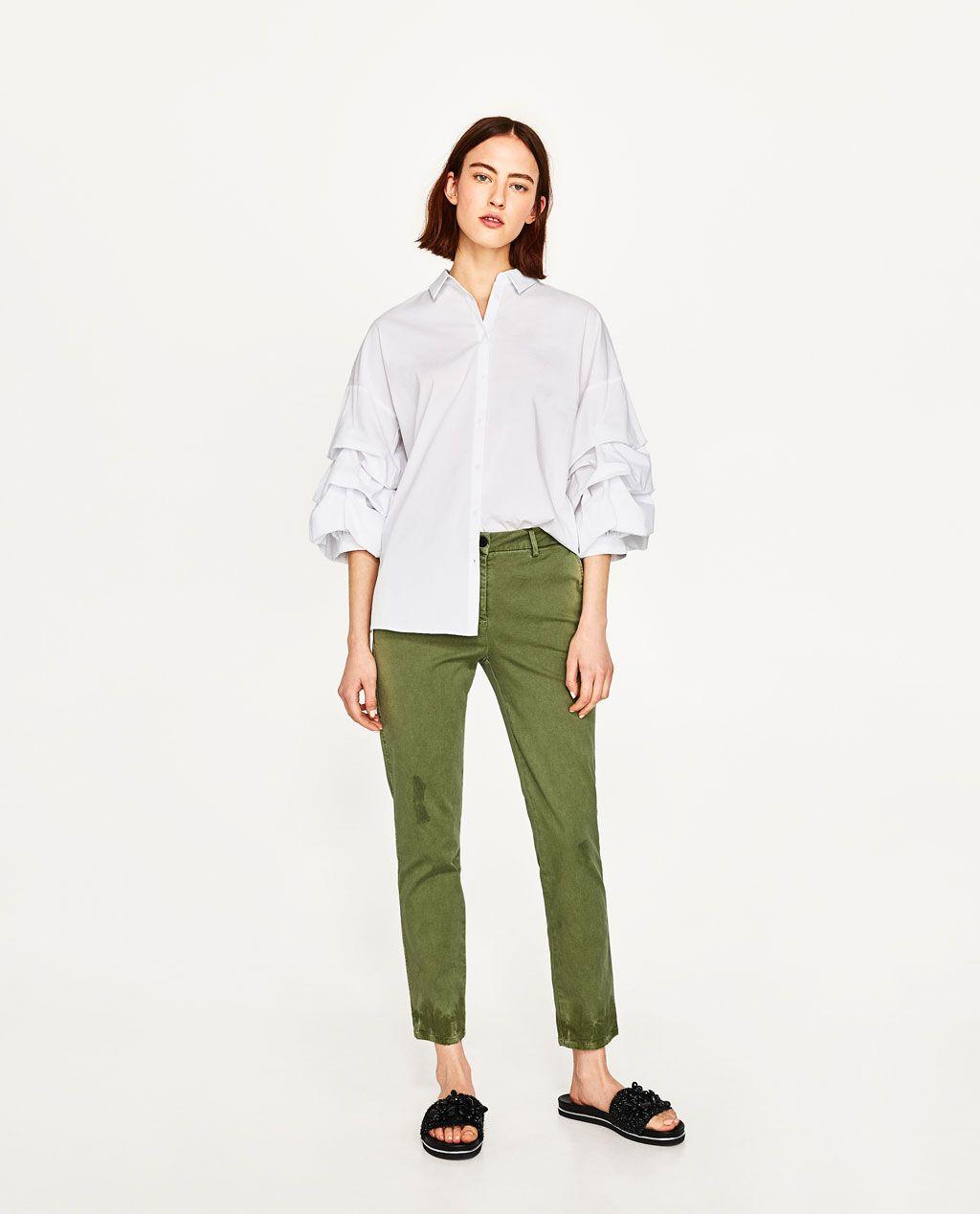 Pantalon Chino Envies Pinterest Pantalones Verdes Pantalones