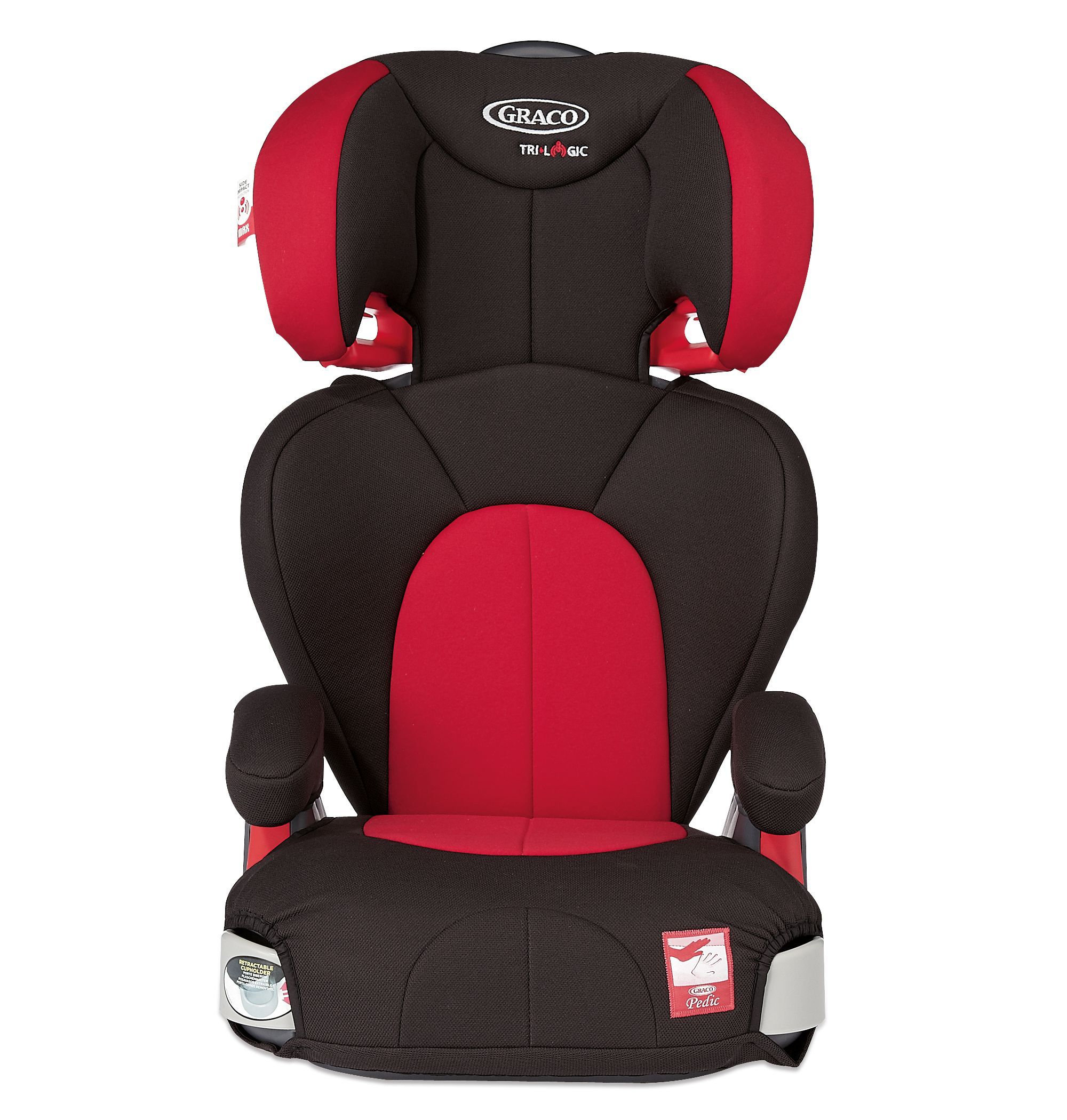 Graco Logico L Highback Booster Car Seat Chilli Colour Exclusive