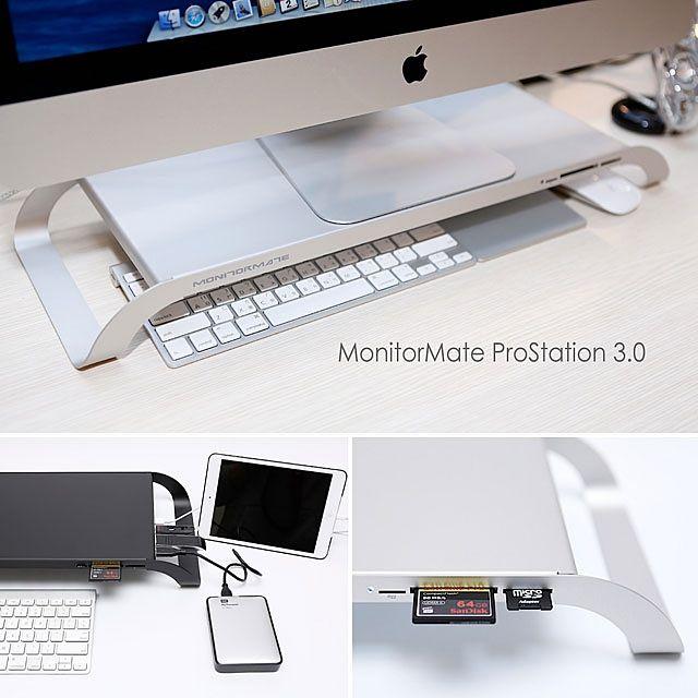 MONITORMATE ProStation 3.0 http://lifestyle.brando.com/MonitorMate-ProStation-3-0_p12530c1808d135.html #monitormate #ProStation