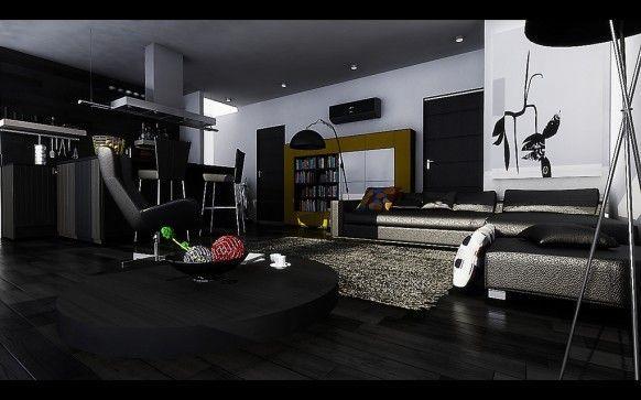 Living Room Modern Living Room Dark Ebony Hardwood Floors Dark Living Rooms Dark Wood Furniture Living Room Dark Wood Living Room