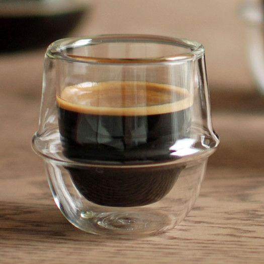 double wall espresso cups mubod kinto kronos double wall espresso cup tableware pinterest