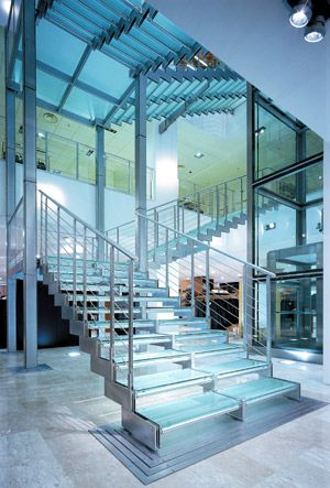 Commercial stair design   ID 3 - Project 1   Pinterest ...