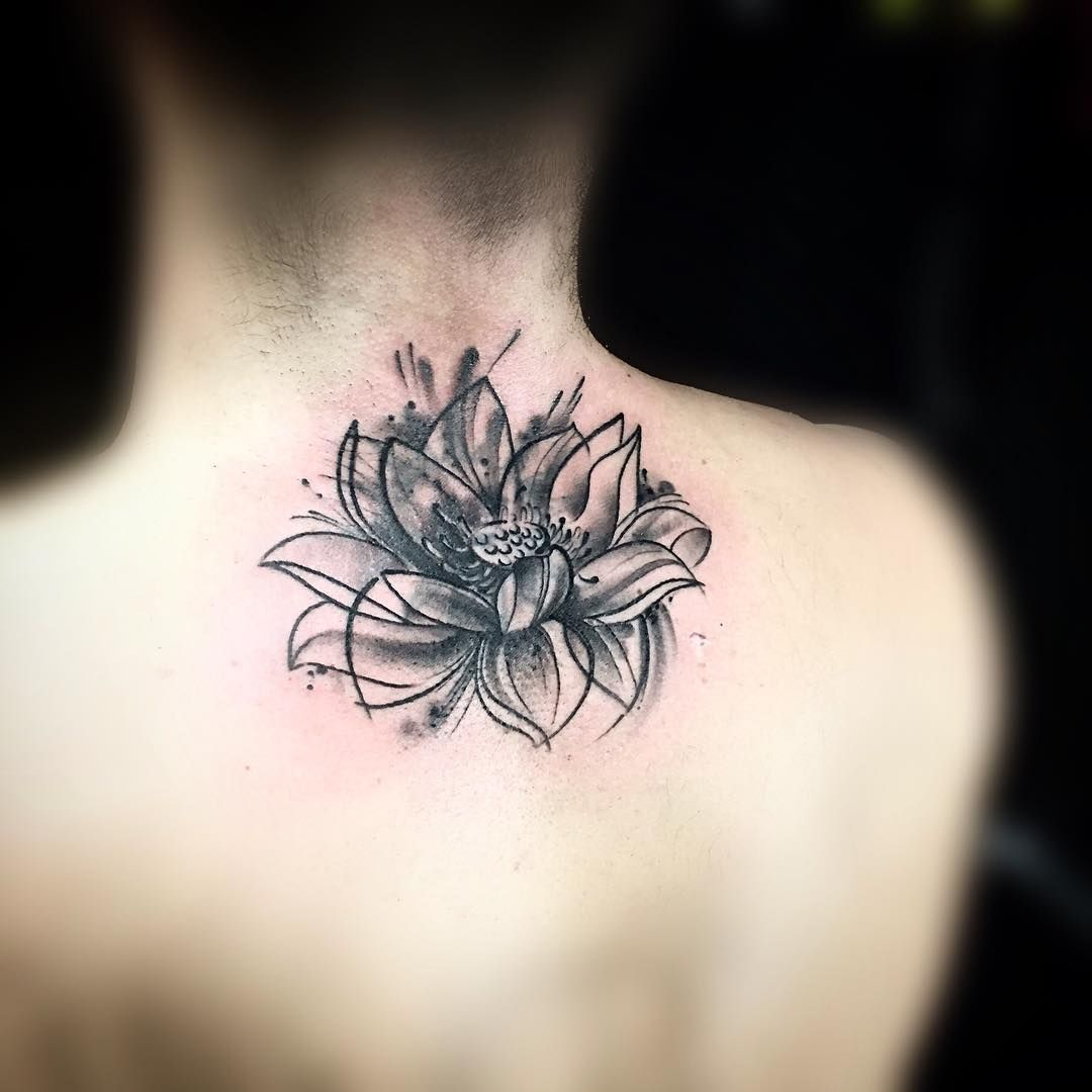 Cover Up Lotus Flower Tattoo Tattoos Pinterest Flower