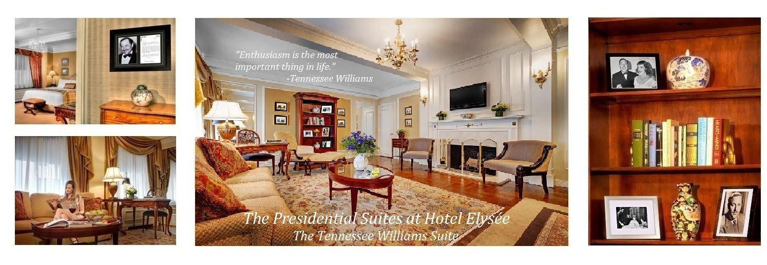 The Presidential Suites At Hotel Elysee Including Our Former