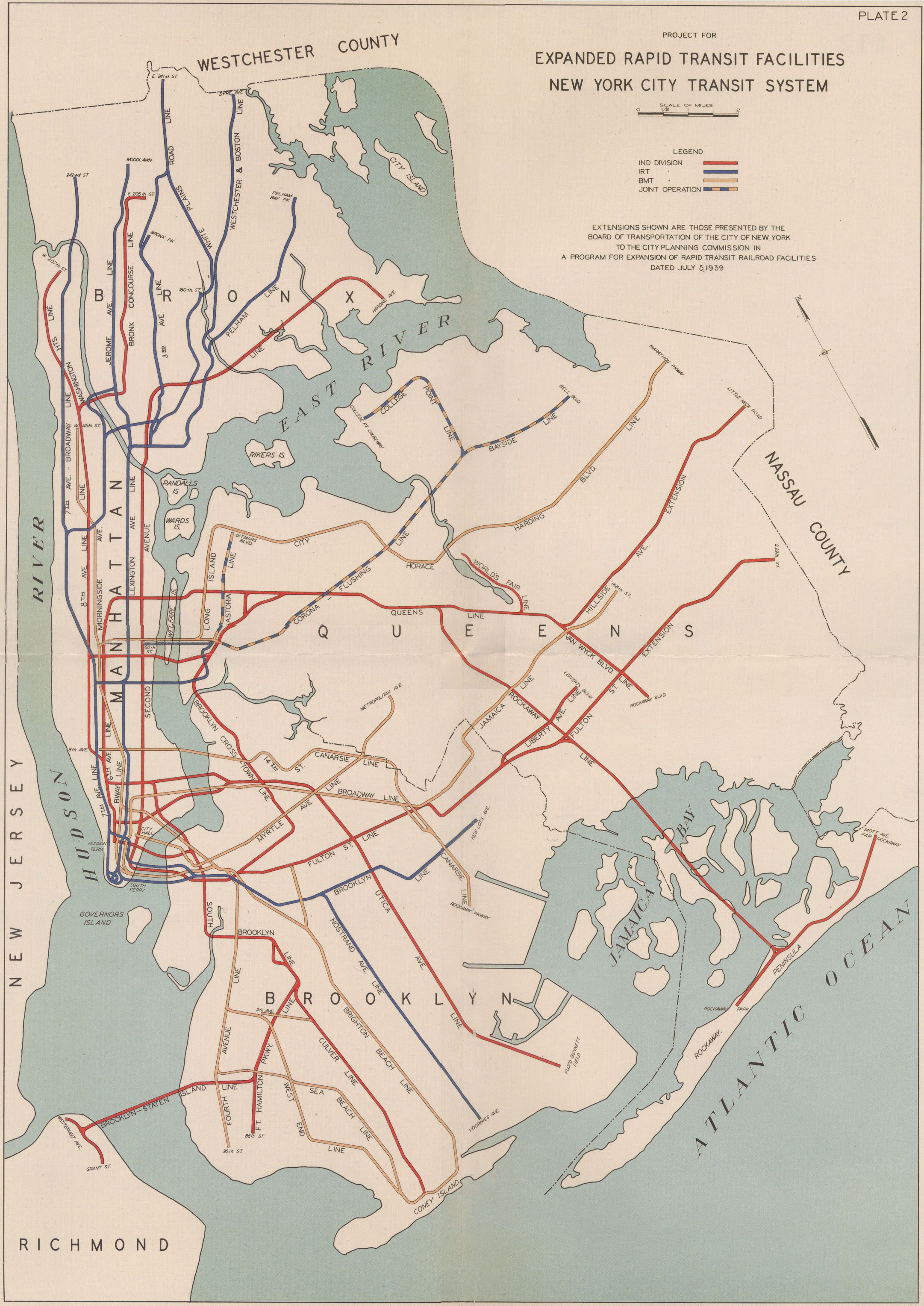 Subway Expansion Plan 1939 The Problem With Authorities The