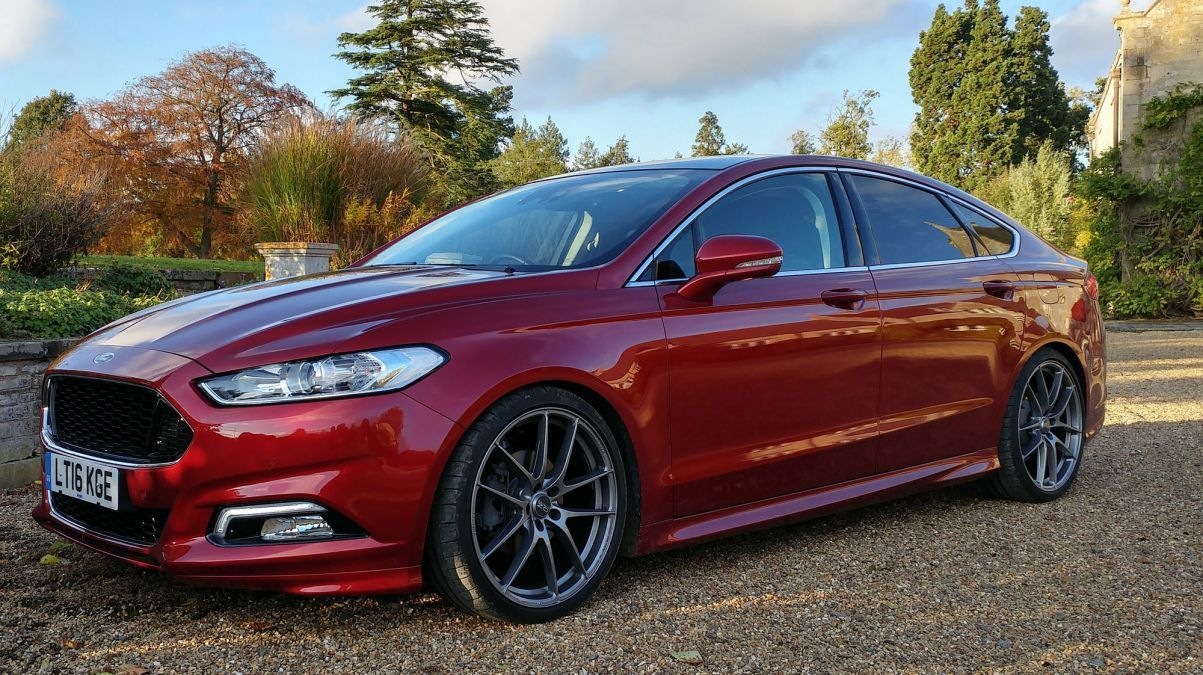 Ford Mondeo Gets Performance Touch From Steeda Autosports Evo Ford Mondeo Ford Fusion Ford Fusion Custom