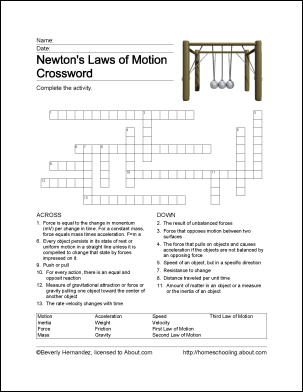 fun ways to learn about newton s laws of motion 5th grade