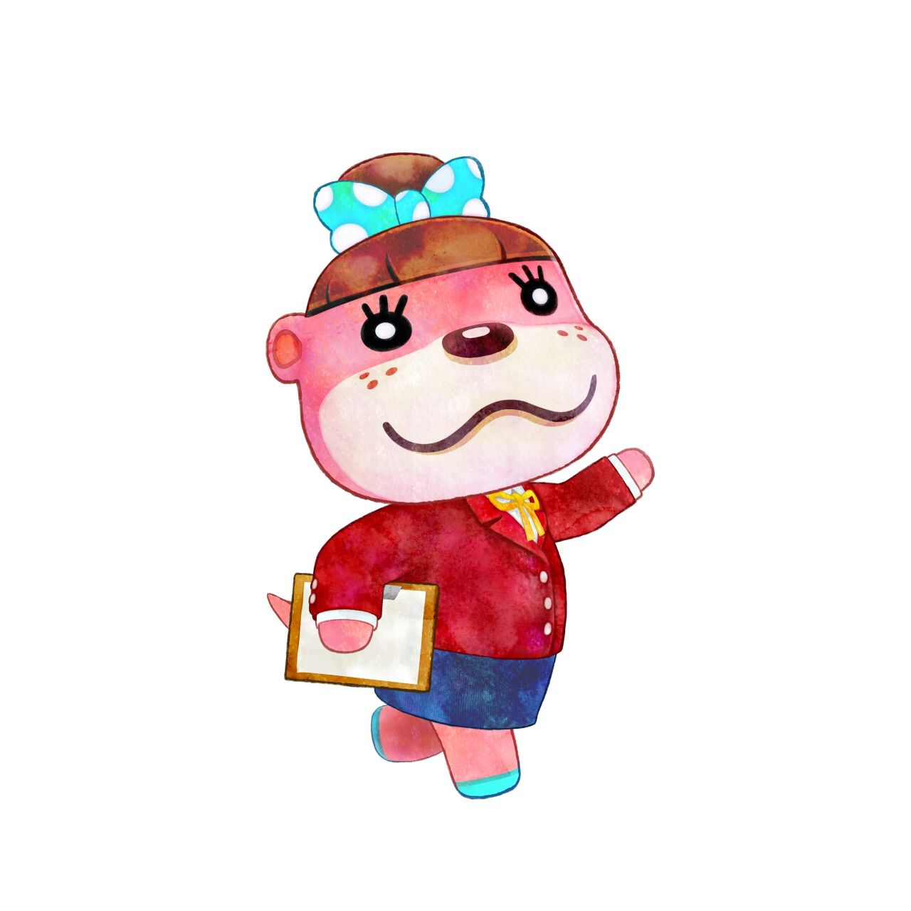 Happy Home Designer Tips: Lottie From Animal Crossing Happy Home Designer