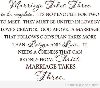 Love Quotes Marriage Quote Takes Three With Custom By Vinylfl On Etsy