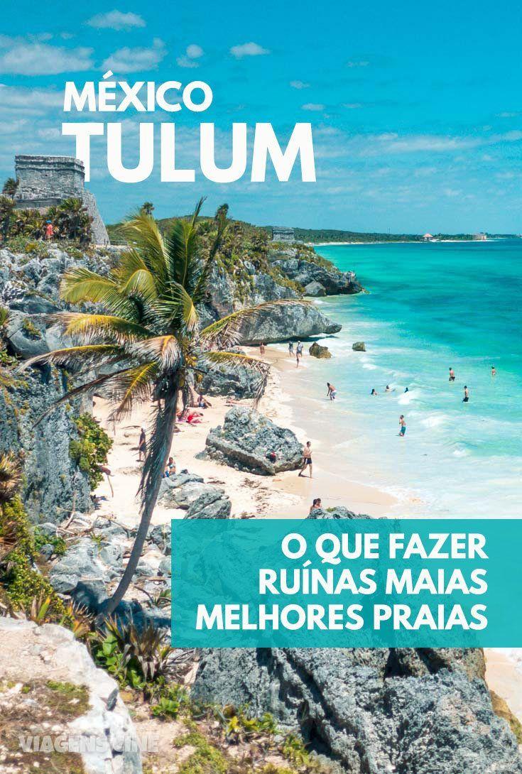 O que fazer em Tulum - Dicas: Passeio em Cancun, México #Cancun #Tulum #Caribe #Mexico