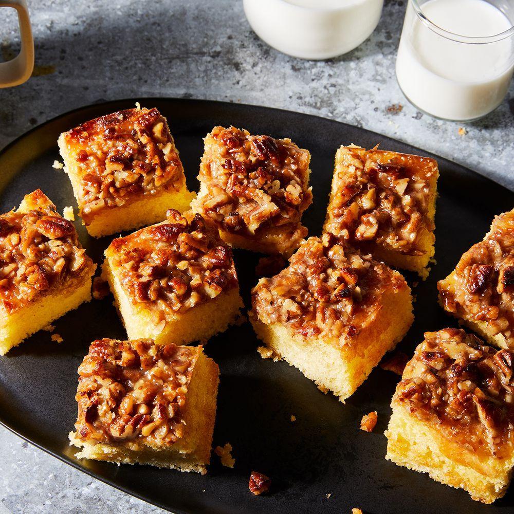 Grandma piggybacks broiled coffee cake recipe on food52