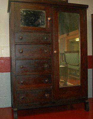 vintage antique furniture wardrobe walnut armoire. antique oak chifferobe walnut very old completed wardrobe furniturebedroom furniturearmoire vintage furniture armoire q